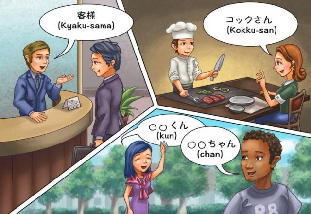 Từ vựng tiếng Nhật sơ cấp về cách xưng hô thông dụng nhất