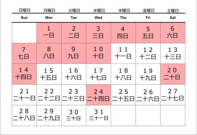Cách nói ngày tháng trong tiếng Nhật