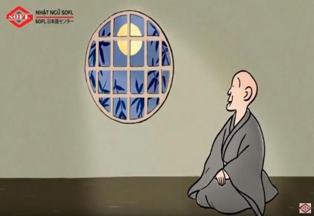 """Học tiếng Nhật qua video """"Ánh Trăng bị bỏ sót ngoài cửa sổ"""""""