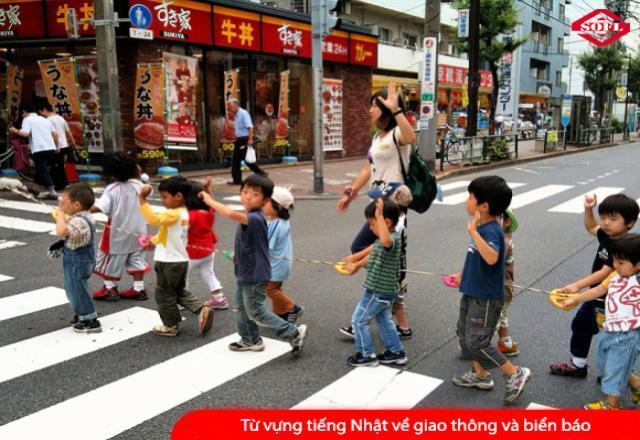 Từ vựng tiếng Nhật về các phương tiện giao thông và biển báo