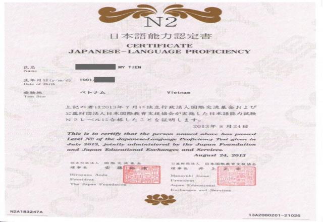 Thủ thuật thi lấy bằng tiếng Nhật N5 dễ dàng?