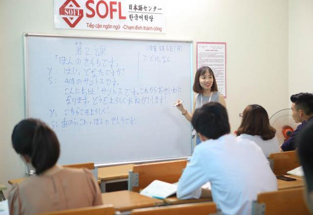 Trải nghiệm khóa học tiếng Nhật sơ cấp của Nhật Ngữ SOFL