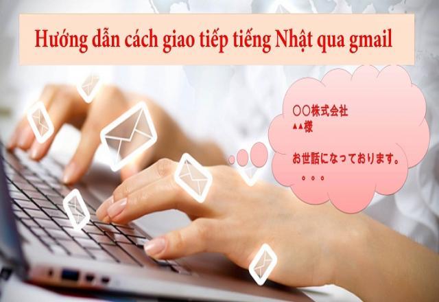 Học tiếng Nhật qua cách viết một Email hoàn chỉnh
