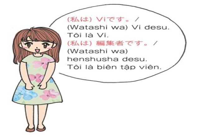 Tự giới thiệu bản thân bằng tiếng Nhật