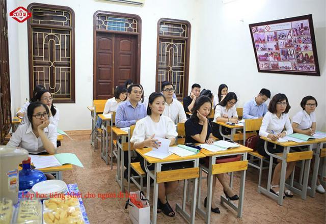 Khóa học đào tạo tiếng Nhật cho doanh nghiệp tại Nhật ngữ SOFL