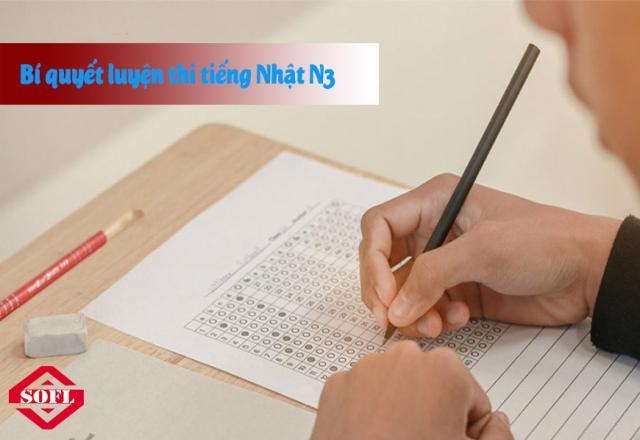 Bí quyết luyện thi tiếng Nhật N3 hiệu quả