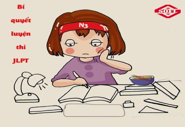 Phạm vi học và ôn luyện thi tiếng Nhật N3