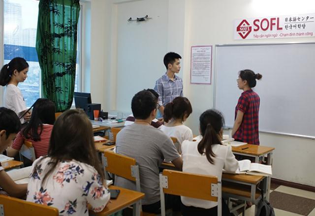 Khóa luyện thi JLPT N3 tại Nhật ngữ SOFL