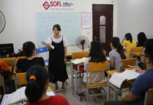 Lớp học giao tiếp tiếng Nhật SOFL tại TP Hồ Chí Minh
