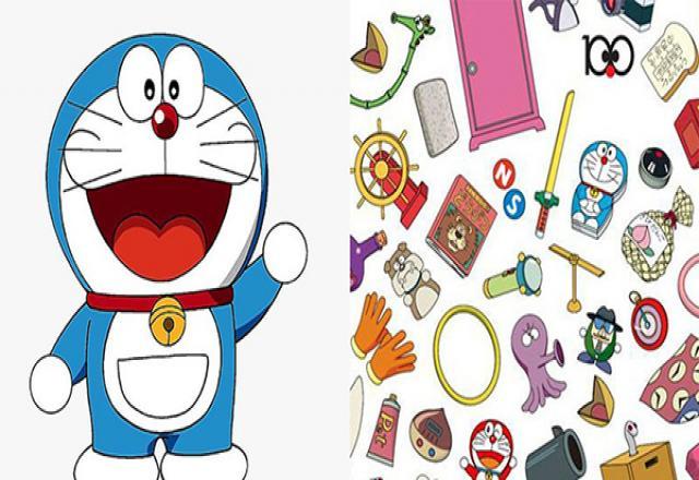 Học từ vựng tiếng Nhật về tên các bảo bối của Doraemon