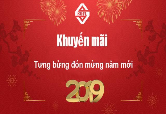 Khuyến mãi tưng bừng đón mừng năm mới cùng Nhật ngữ SOFL