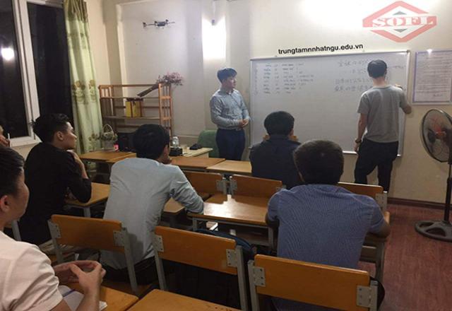 Những mẫu câu giao tiếp tiếng Nhật đơn giản trong lớp học