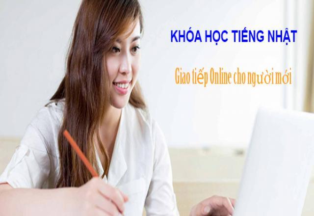 """Khóa học tiếng Nhật giao tiếp online tốt nhất cho """"lính mới"""""""