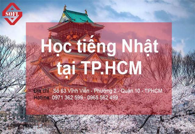 Học tiếng Nhật ở TPHCM Cùng Trung tâm Nhật ngữ SOFL